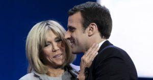 Emmanuel & Brigitte Macron