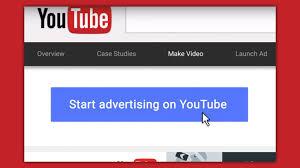 Advertising on YouTube